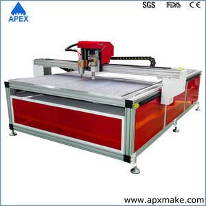 Jinan cnc router CNC leather cutting machine for cloth, shoe &bag