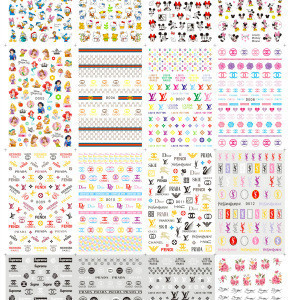 Kama New arriving Japan & Korea glass mirror foil nail sticker for girl nail art