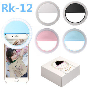 Led Lamp Makeup Live Video Fill Ring Light Portable Rechargeable Selfie Phone Camera Ring Light