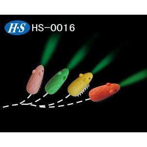 LED moving rat lamp/mini electronic animals toys for children/cartoon led light
