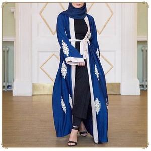 LSM029 Ramadan Abaya Caftan Dubai Turkey Islamic Clothes Hijab Muslim Dress Caftan Women Dresses