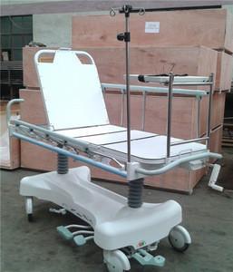 Luxurious hydraulic x-ray backrest patient transport stretcher Ward Nursing Equipments