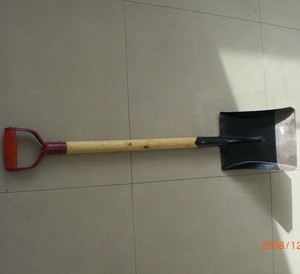 METAL SHOVEL FOR S501 SHOVEL OUTDOOR WITH WOODEN HANDLE