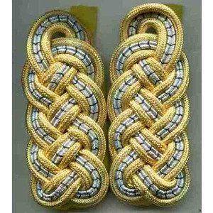 MILITARY UNIFORM ACCESSORIES,SHOULDER BOARD,TWISTED CORD,EPAULET