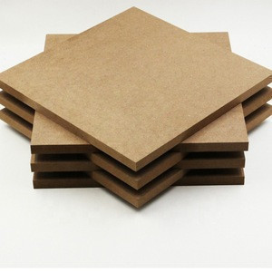 Nigeria 17mm high glossy UV melamine laminated MDF board