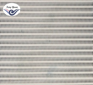 Polyester spiral dryer mesh belt for drying part of paper machine