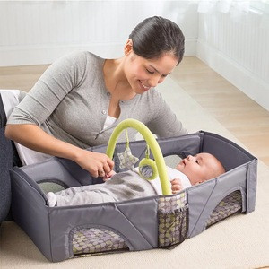 Potable Baby Cribs New Born Sleeping Bed Infant Baby Cot For Travelling