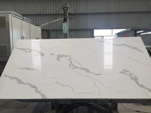 QZ001 Big Slab price white artificial stone marble
