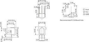 RF remote control module PHOTO LINK DQIR-38521F5
