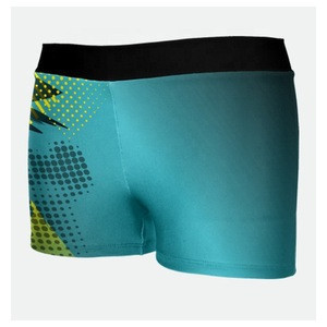 Soft lycra new design Cheerleadering shorts in China