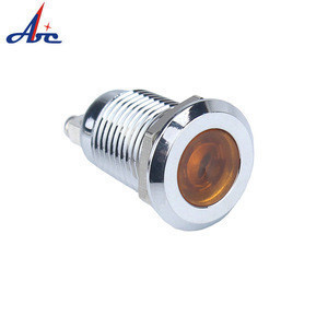 Transparent Small Round Illuminated push button 32mm with micro switch and LED,game accessory for amusement /arcade game machine