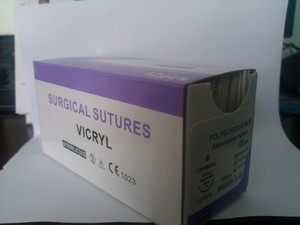VICYRL SURGICAL SUTURE WITH NEEDLE