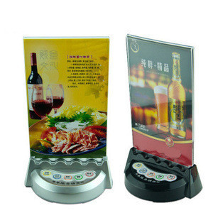 Wireless restaurant take meals coaster pager, self-service call system