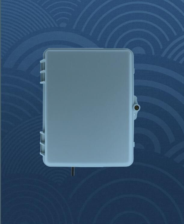 Fiber Distribution Box for 24 fibers used in FTTx projects