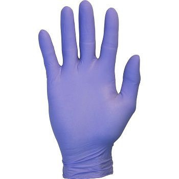 Nitrile Exam Gloves - Medical Grade,Powder Free,Disposable, Non Sterile  Convenient Dispenser Pack of 100
