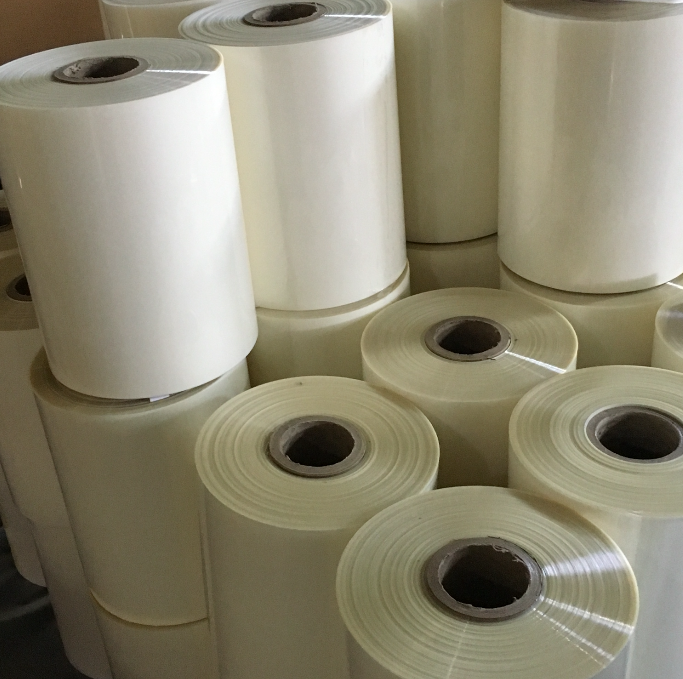 PET release film for screen printing and offset printing heat transfer