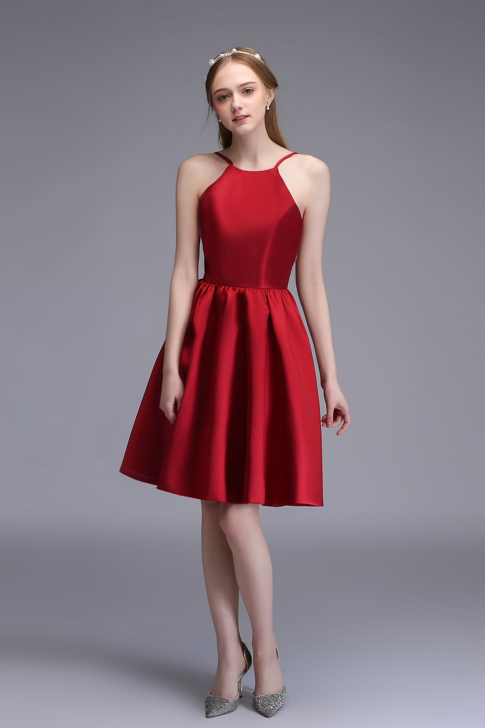 REd Short Party Dress