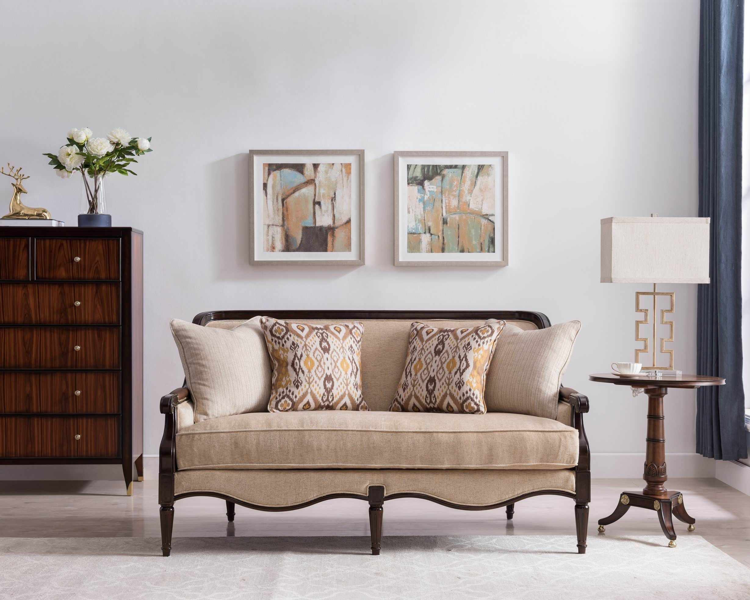 Modern Classic Living Room Sofa