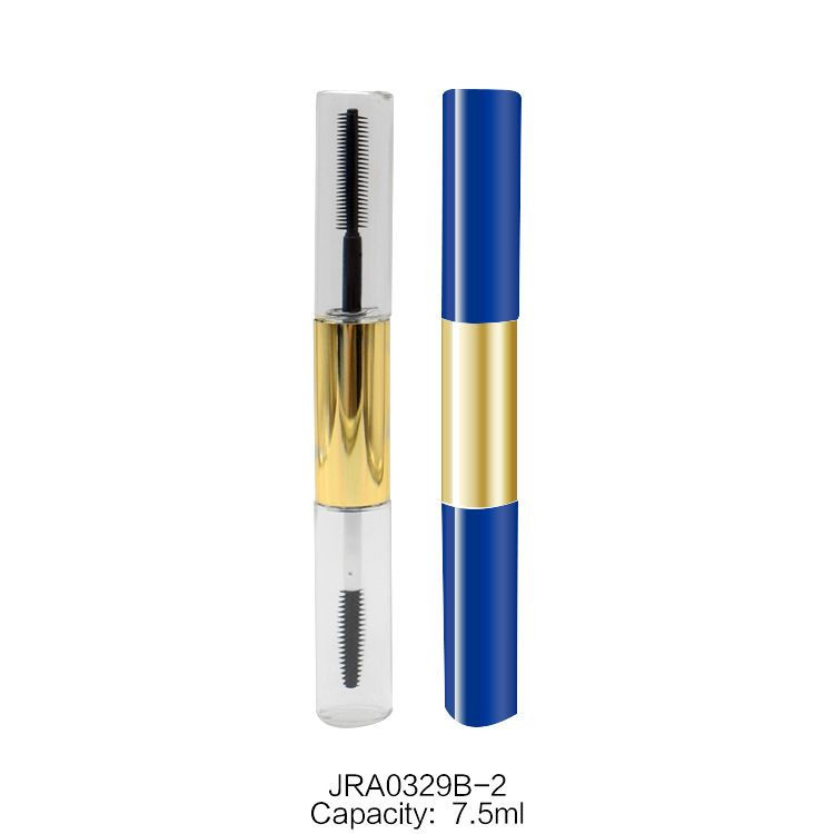 The manufacturer directly supplies round mascara tube lip gloss tube eyeliner bottle empty tube OEM private custom empty liquid mascara tube bottle mascara packaging materials