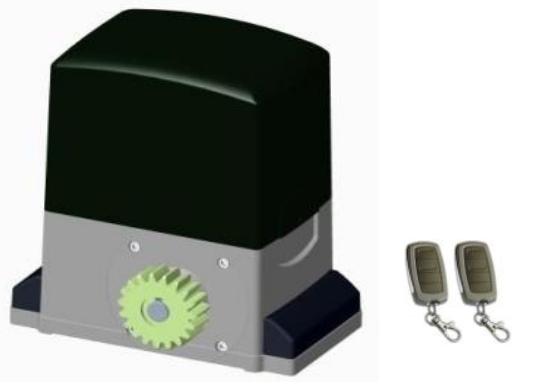 Supporting Max. door 2000kg to 3000kg AC Motor Automatic Sliding Door Operator