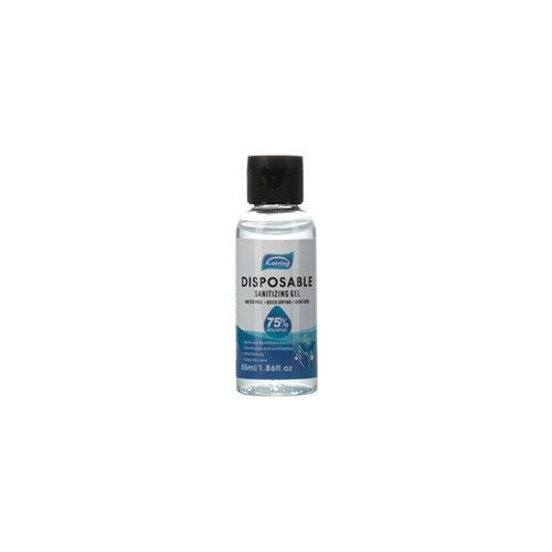Disposable disinfectant gel