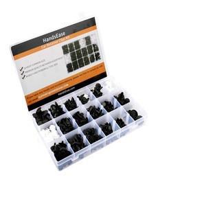 435 Pcs Auto Push Pin Rivets Set Door Trim Panel Clips/HandsEase Car Retainer Clips and Plastic Fasteners Kit