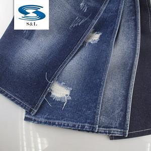 B293DEEP BLUE guangzhou factory 11.7oz wholesale cheap stock 100% cotton denim fabric for human