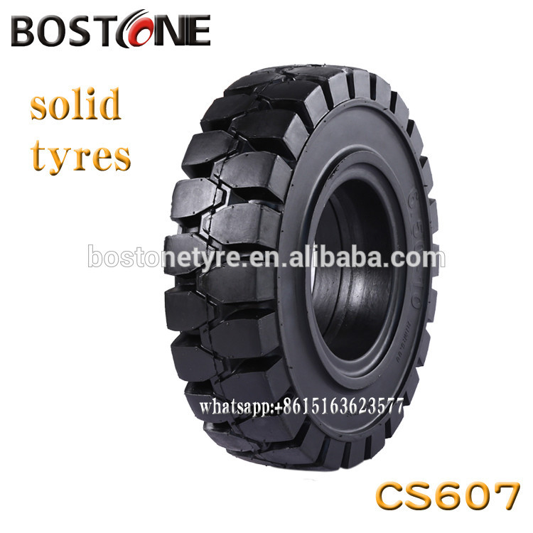BOSTONE 23*9-10  23x9/10 Forklift Shaped Solid industural Tire