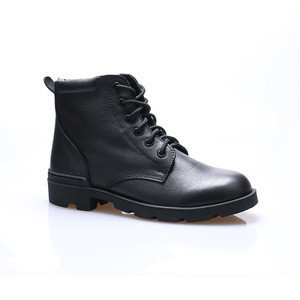 China Made High Neck Leather Shoes For