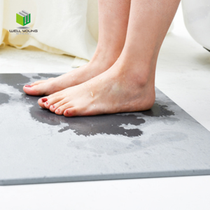 Custom diatomaceous earth bath mat bathroom floor anti-slip mat