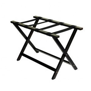 Custom foldable steel tube stand luggage racks, custom tubular folding storage rack tray stand with click system