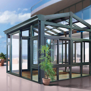 Customized various styles in big yard or garden room for sun room