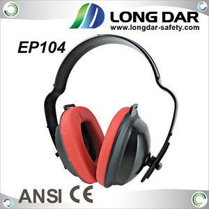 EP104 26.1 dB cheap plastic safety industrial workplace ear muffs