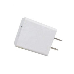 Factory Price US Plug 5V 2.1A  Mini Travel Charger 1 USB Port 10W Mobile Power Adapter
