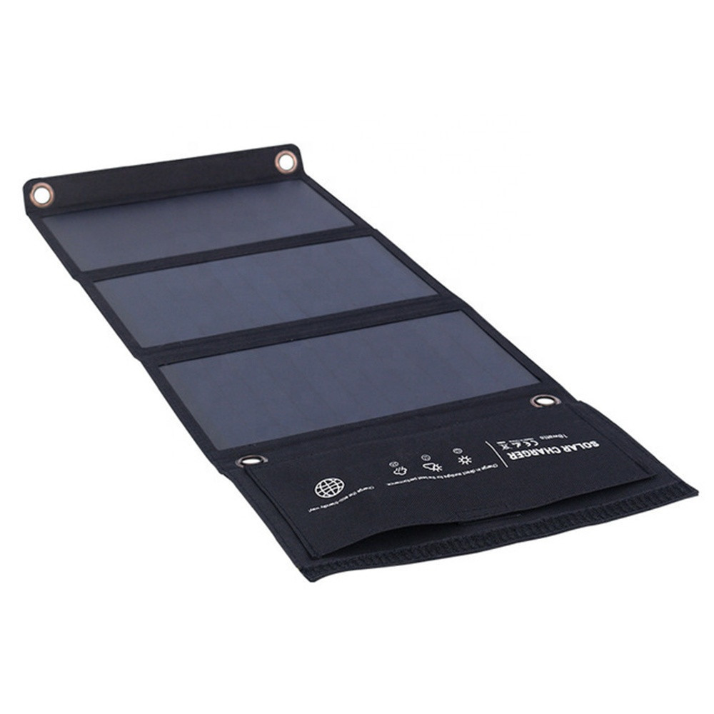 Flexible Solar Panels 21W With Multiple Outputs 5V Imported American High Efficiency Sunpower 3pcs Solar Cells kit for outdoor