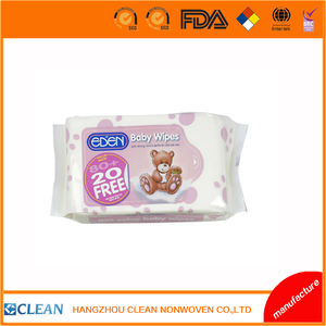 Food grade Organic Natural cheap cleaning baby wipes wet