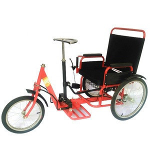 Free Shipping Wholesale B2B Manual Chainless push-pull tricycle for handicapped disabled tricycle