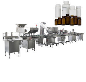 Full Automatic Bottle Capsule Tablet Filling Counting Packaging Machines Pharmaceutical Packaging Machines Line