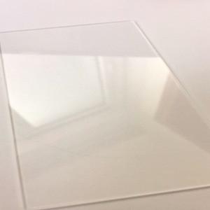 Fused silica sand quartz glass plate