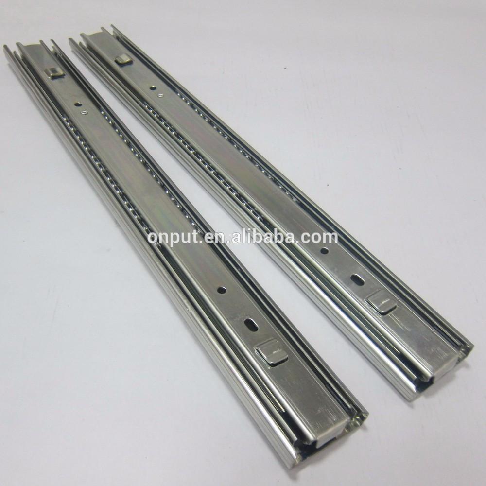 Heavy duty telescopic slide tool box drawer slides full extension slide rail