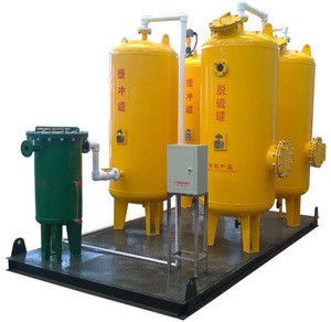 High efficiency biogas pretreatment system