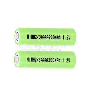 High performance 200mah 1.2v battery 2/3 aaaa nimh battery for cordless telephone