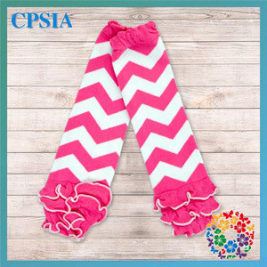 Hot Sale !! Black & Pink Stripe Baby Leg Warmers , Infant Cotton Ruffle Leg Warmers,Toddler Sports Boot Warmers