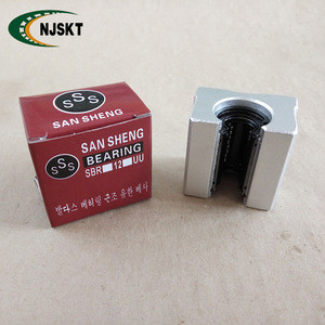 Hot sale SBR series ball slide bearing SBR16UU linear motion guide bearings