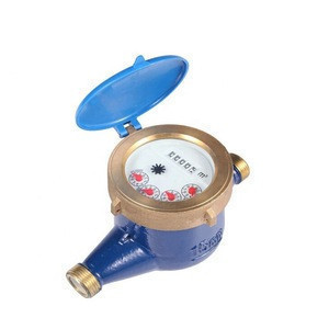 ISO4064 Class B Multi Jet Liquid Sealed Brass Water Meter