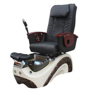 Kangmei Modern Luxury Beauty Nail Salon Equipment Supplier Pipeless Whirlpool Foot Spa Pedicure Chair with Sink