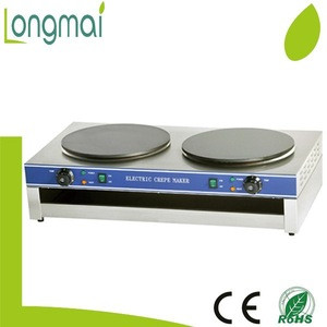LECM-2 / 2018 CE approved stainless steel electric crepe maker
