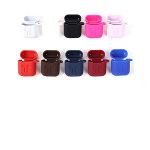 Macarons Color Full Protective Bluetooth Wireless Earphone Cover Case For Airpods Headphone