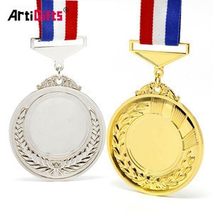Medal Factory Gold Plated Custom Made Metal Sports 3d Blank Award Medals