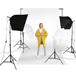 Professional backdrop stands lights softbox photo studio accessories for photography